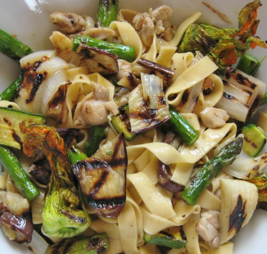 tagliatelle_with _grilled_spring_vegetables_and_rabbit