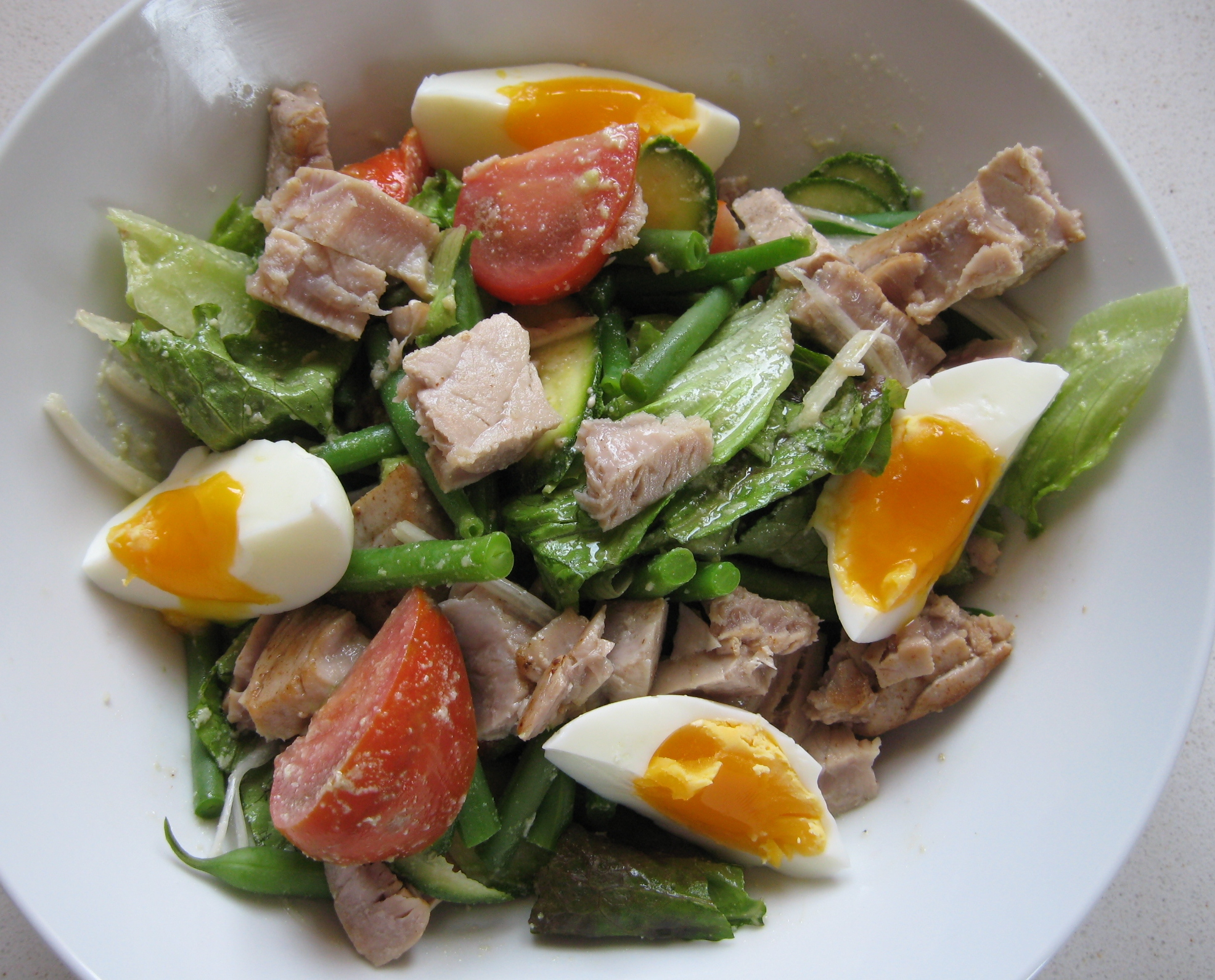 ... garden salad with spring salad with new spring salad with new