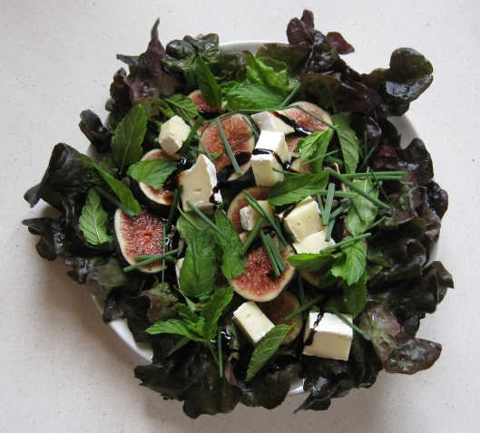 fig_goat_cheese_Mint_salad