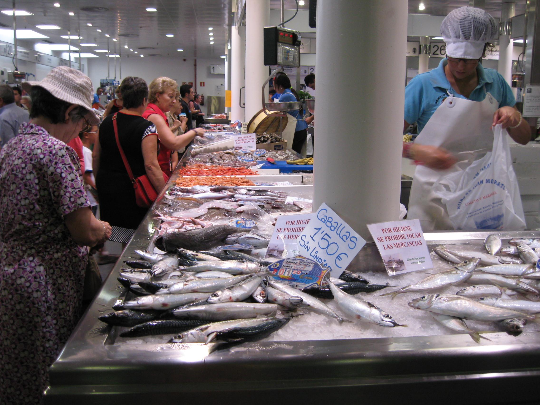 Almeria fish market fincafood for Closest fish market